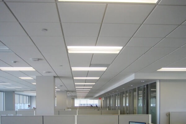 Acoustic Ceiling Installation