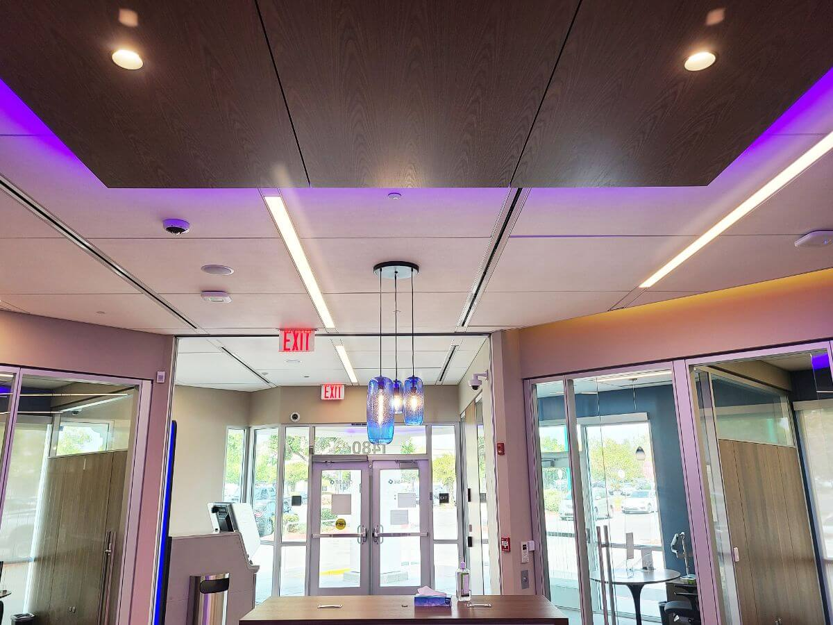Acoustical Ceilings For Banks 10