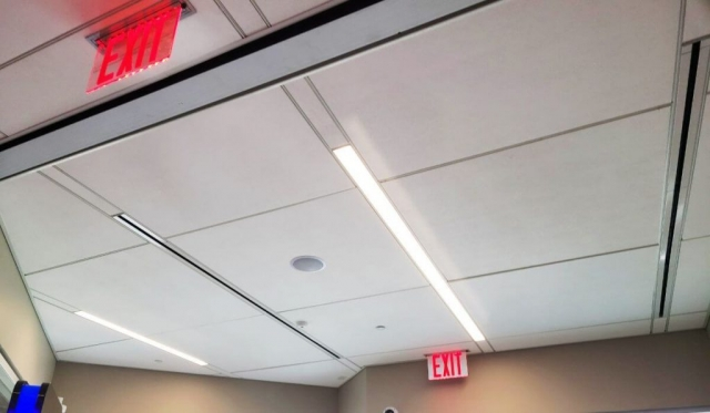 Acoustical Ceilings For Banks 13