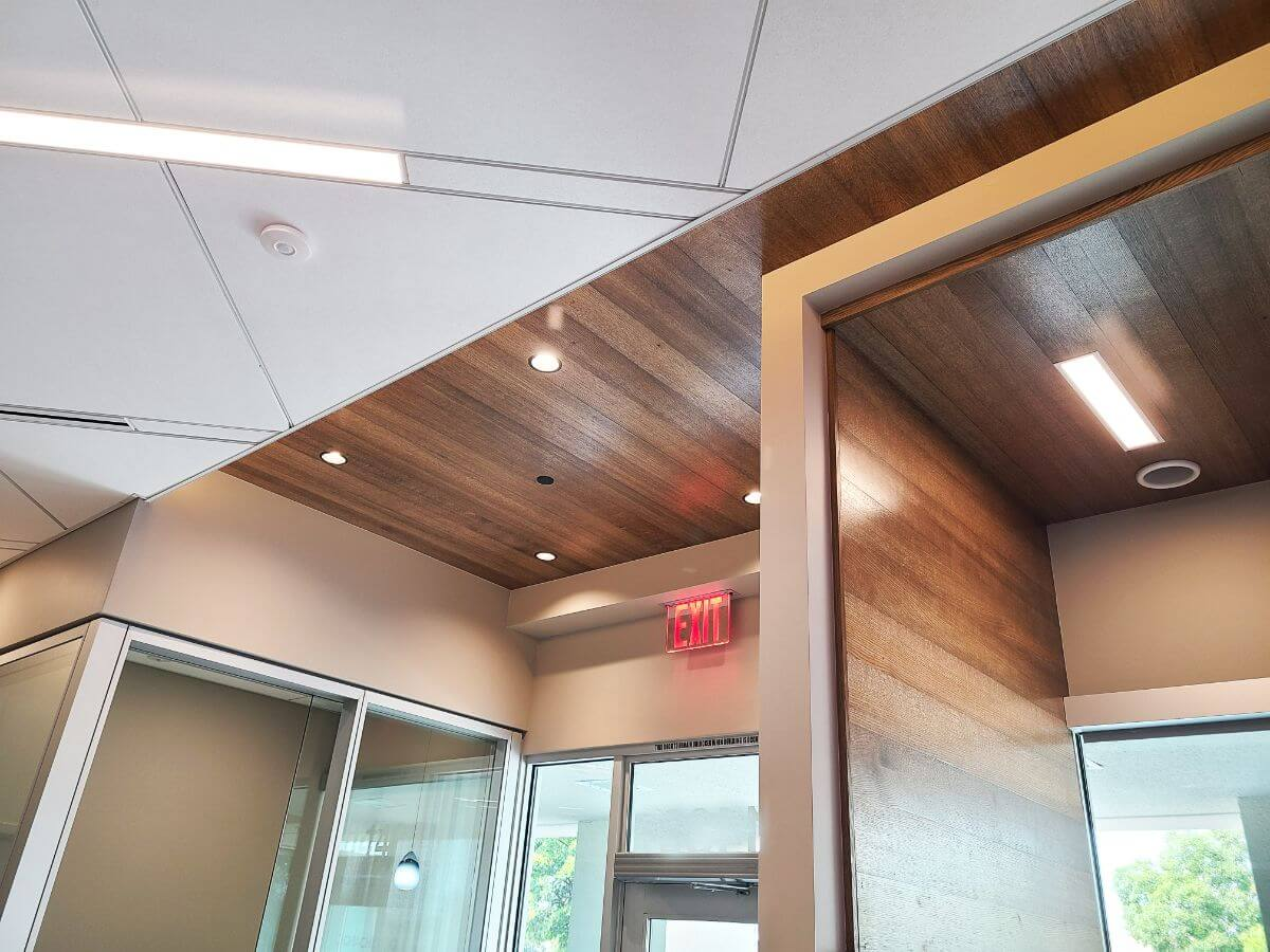 Acoustical Ceilings For Banks 6