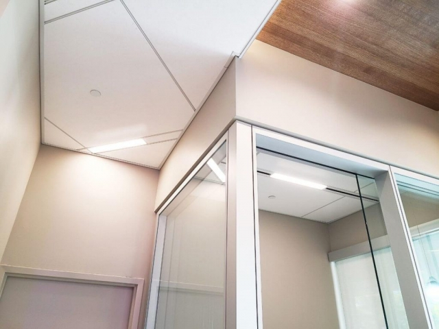 Acoustical Ceilings For Banks 7