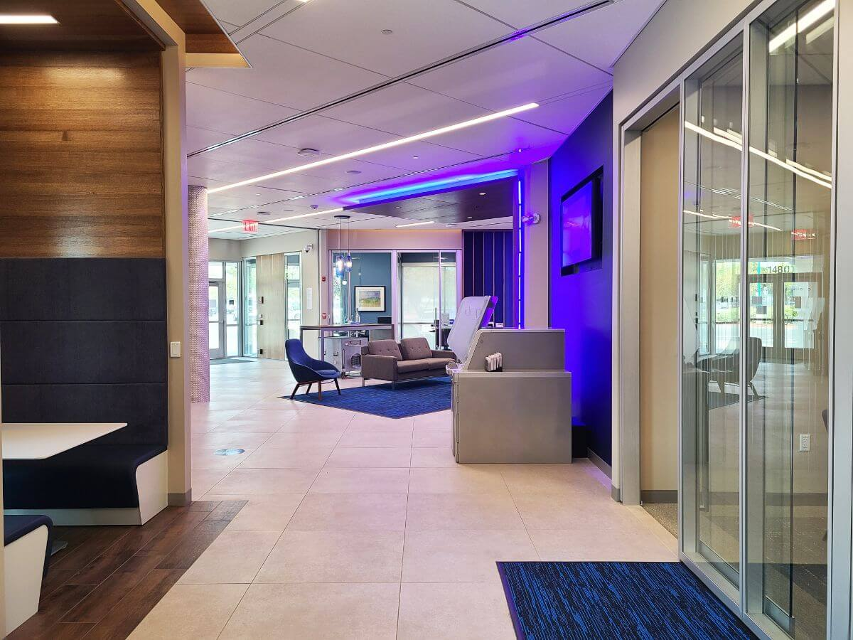 Acoustical Ceilings For Banks 9